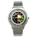 Xmas IV Stainless Steel Watch