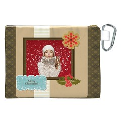 Xmas By Xmas   Canvas Cosmetic Bag (xxl)   Fbgoc59vy6ti   Www Artscow Com Back