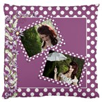 Our Memories Standard Flano Cushion Case - Standard Flano Cushion Case (One Side)