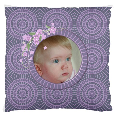 Little One Standard Flano Cushion Case By Deborah   Standard Flano Cushion Case (one Side)   Fqafnf1iyul0   Www Artscow Com Front
