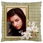 Elegant Standard Flano Cushion Case - Standard Flano Cushion Case (One Side)