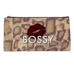 Bossy Snake Texture  Pencil Case by OCDesignss