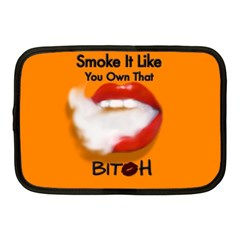 Vape Mouth Smoke Own That Netbook Sleeve (medium) by OCDesignss