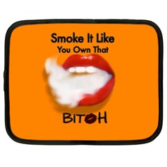 Vape Mouth Smoke Own That Netbook Sleeve (xxl) by OCDesignss