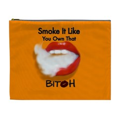 Vape Mouth Smoke Own That Cosmetic Bag (XL) by OCDesignss