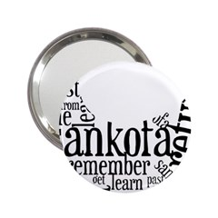 Sankofashirt Handbag Mirror (2 25 ) by afromartha