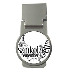 Sankofashirt Money Clip (round)