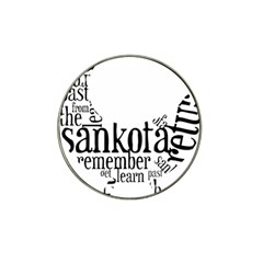 Sankofashirt Golf Ball Marker 4 Pack (for Hat Clip) by afromartha