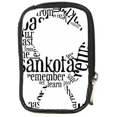 Sankofashirt Compact Camera Leather Case by afromartha