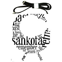Sankofashirt Shoulder Sling Bag