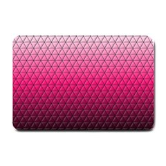 Pink Gradient Mosaic Small Door Mat by PrincessTrixiel