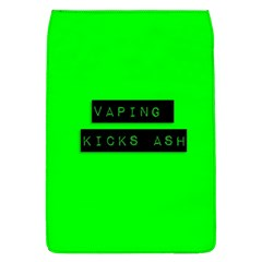 Vaping Kicks Ash Florescent  Removable Flap Cover (large) by OCDesignss