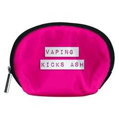 Vaping Kicks Ash Pink  Accessory Pouch (medium) by OCDesignss