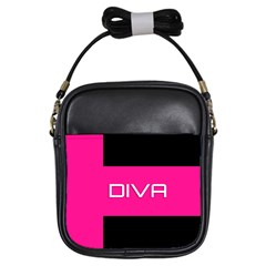 Diva Hot Pink Girl s Sling Bag by OCDesignss