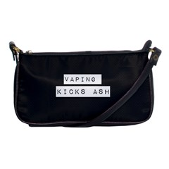 Vaping Kicks Ash Blk&wht  Evening Bag by OCDesignss
