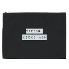 Vaping Kicks Ash Blk&wht  Cosmetic Bag (xxl) by OCDesignss