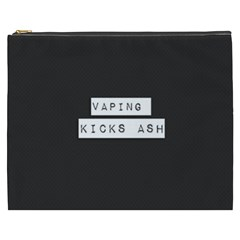 Vaping Kicks Ash Blk&wht  Cosmetic Bag (xxxl) by OCDesignss