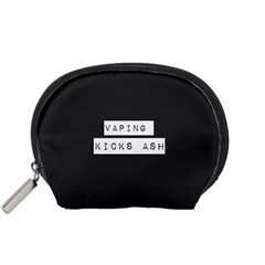 Vaping Kicks Ash Blk&wht  Accessory Pouch (small) by OCDesignss