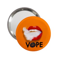 Lips Vape Smoke  Handbag Mirror (2 25 ) by OCDesignss