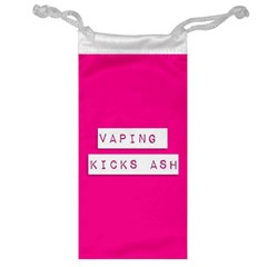 Vaping Kicks Ash Pink  Jewelry Bag by OCDesignss