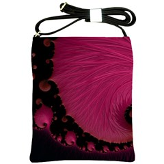 Beautiful Fractal  Shoulder Sling Bag by OCDesignss