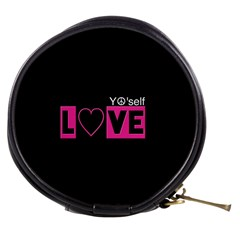 Love Yo self  Mini Makeup Case by OCDesignss