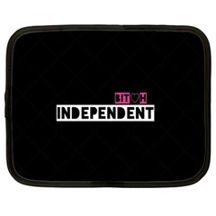 Independent Bit H Netbook Sleeve (xl) by OCDesignss