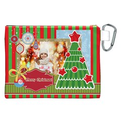 Xmas By Xmas   Canvas Cosmetic Bag (xxl)   90rsjwvncclx   Www Artscow Com Back
