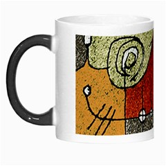 Multicolored Abstract Tribal Print Morph Mug by dflcprints