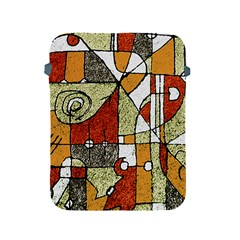 Multicolored Abstract Tribal Print Apple Ipad Protective Sleeve by dflcprints