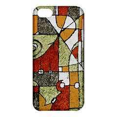Multicolored Abstract Tribal Print Apple Iphone 5c Hardshell Case by dflcprints