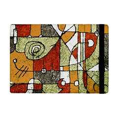 Multicolored Abstract Tribal Print Apple iPad Mini 2 Flip Case by dflcprints