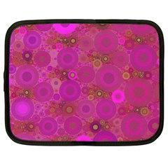 Pinka Dots  Netbook Sleeve (xl) by OCDesignss