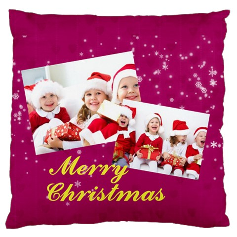 Xmas By Xmas   Standard Flano Cushion Case (one Side)   4kbwy464jr27   Www Artscow Com Front