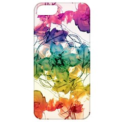 Multicolored Floral Swirls Decorative Design Apple Iphone 5 Classic Hardshell Case by dflcprints