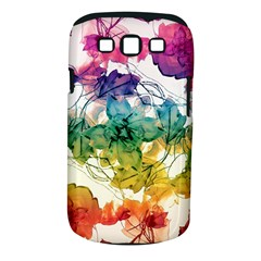 Multicolored Floral Swirls Decorative Design Samsung Galaxy S Iii Classic Hardshell Case (pc+silicone) by dflcprints