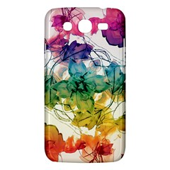 Multicolored Floral Swirls Decorative Design Samsung Galaxy Mega 5 8 I9152 Hardshell Case  by dflcprints
