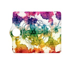 Multicolored Floral Swirls Decorative Design Kindle Fire Hdx 8 9  Flip 360 Case by dflcprints