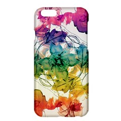 Multicolored Floral Swirls Decorative Design Apple iPhone 6 Plus Hardshell Case by dflcprints