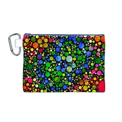 Bling Skiddles Canvas Cosmetic Bag (medium) by OCDesignss