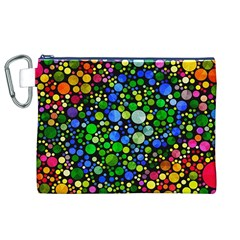 Bling Skiddles Canvas Cosmetic Bag (xl) by OCDesignss