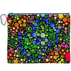 Bling Skiddles Canvas Cosmetic Bag (xxxl) by OCDesignss