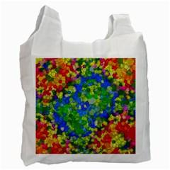 Skiddles White Reusable Bag (one Side) by OCDesignss