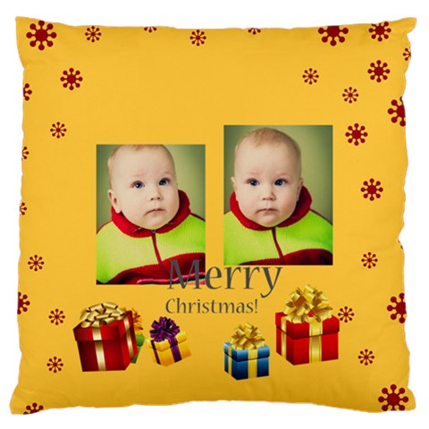 Xmas By Xmas   Standard Flano Cushion Case (one Side)   G5eiwor03dh6   Www Artscow Com Front