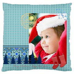 Xmas By Xmas   Large Flano Cushion Case (two Sides)   Oex3je15xmtu   Www Artscow Com Back