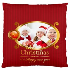 Xmas By Xmas   Large Flano Cushion Case (two Sides)   2mj52z8vdb24   Www Artscow Com Front
