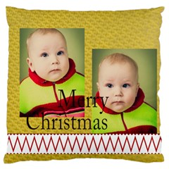 Xmas By Xmas   Large Flano Cushion Case (two Sides)   4s6a3avors9r   Www Artscow Com Front