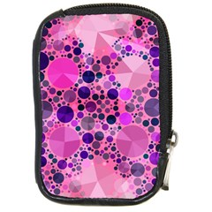 Pink Bling  Compact Camera Leather Case by OCDesignss