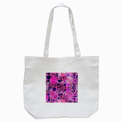 Pink Bling  Tote Bag (white) by OCDesignss