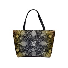 Abstract Earthtone  Large Shoulder Bag by OCDesignss